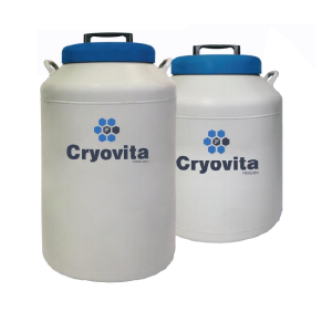 Cryovita Darwin Series Liquid Nitrogen Inventory Racking System