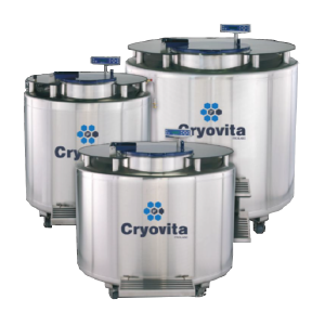 Cryovita Origin Series Liquid Nitrogen Tank