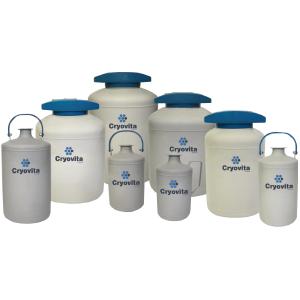 Cryovita Liquid Nitrogen Storage Dewars