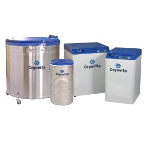 Cryovita Liquid Nitrogen Voyager Series
